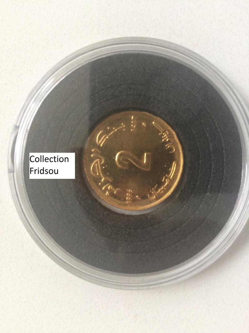 Collection Fridsou,  2 dinars Or Gold 1996 Algérie Algeria Img_0611