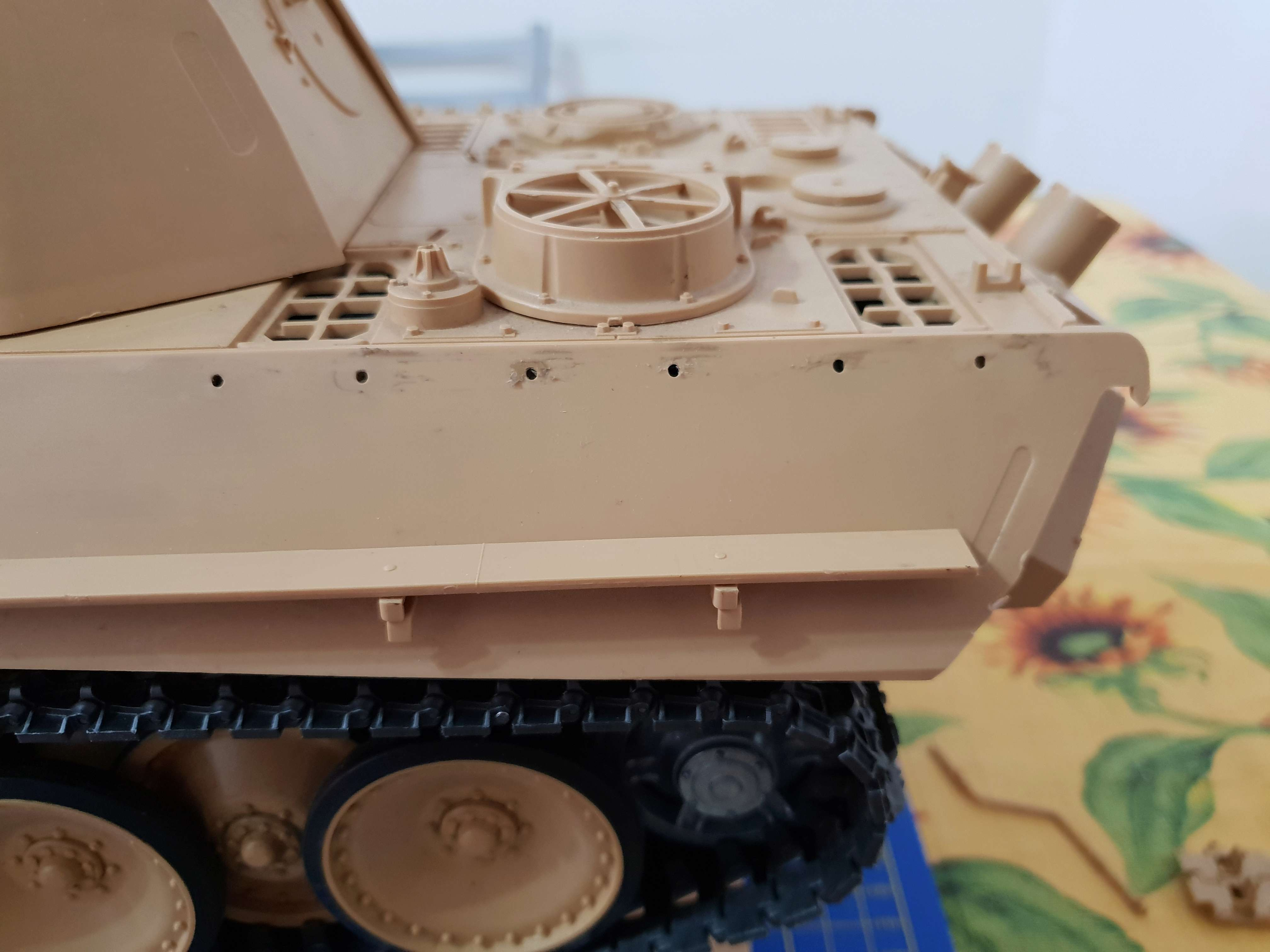 W.I.P. Panther Ausf G Tamiya Number Two By Admin CPT America 20180526