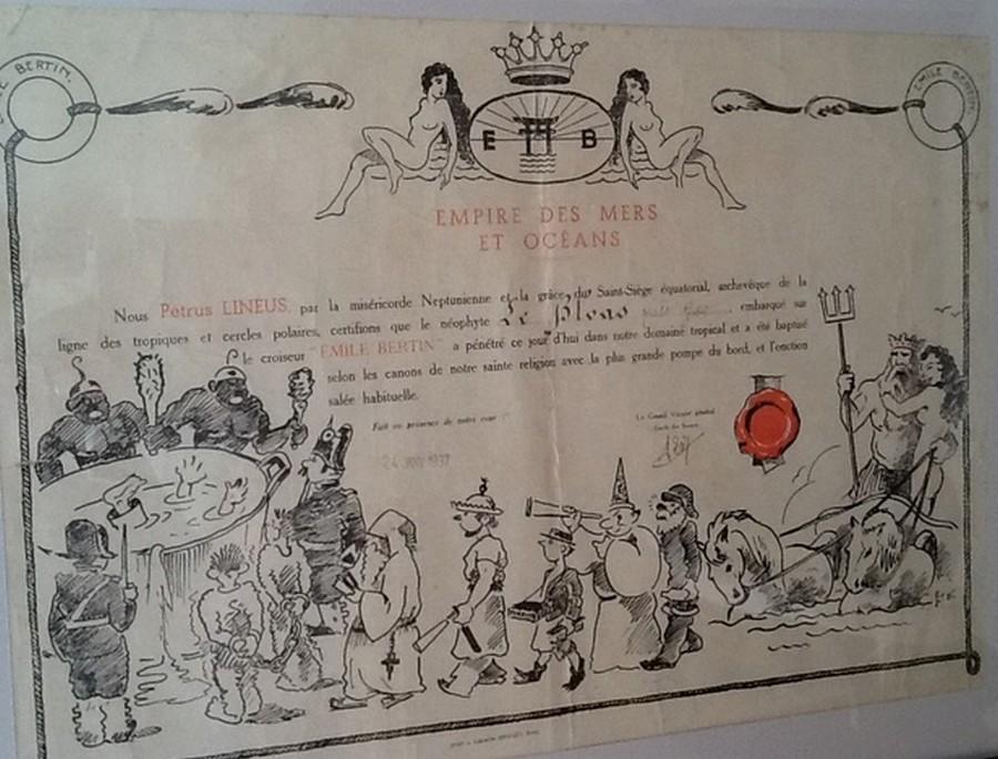 [ Les traditions dans la Marine ] Les diplômes de la Ligne - Page 4 Image410