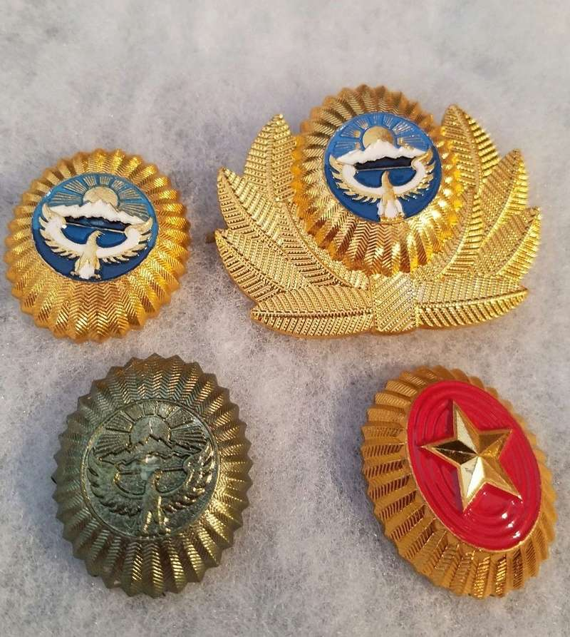 Beret badges Kyrgyz11