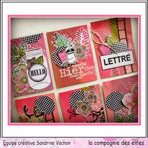 Pocket letter de Sandrine. Pocket12