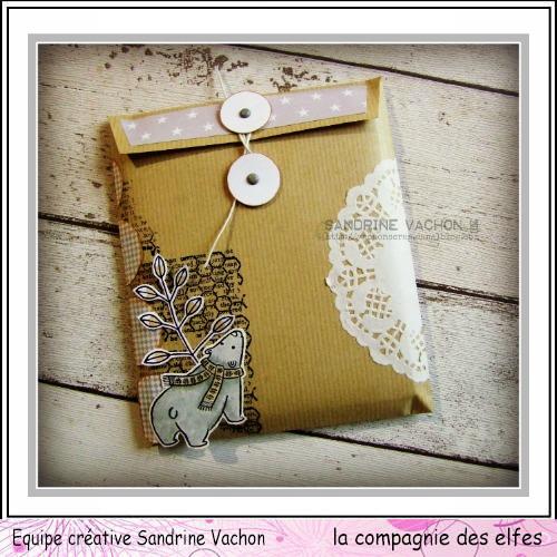 Pochette cadeau pour CD. Sandri59