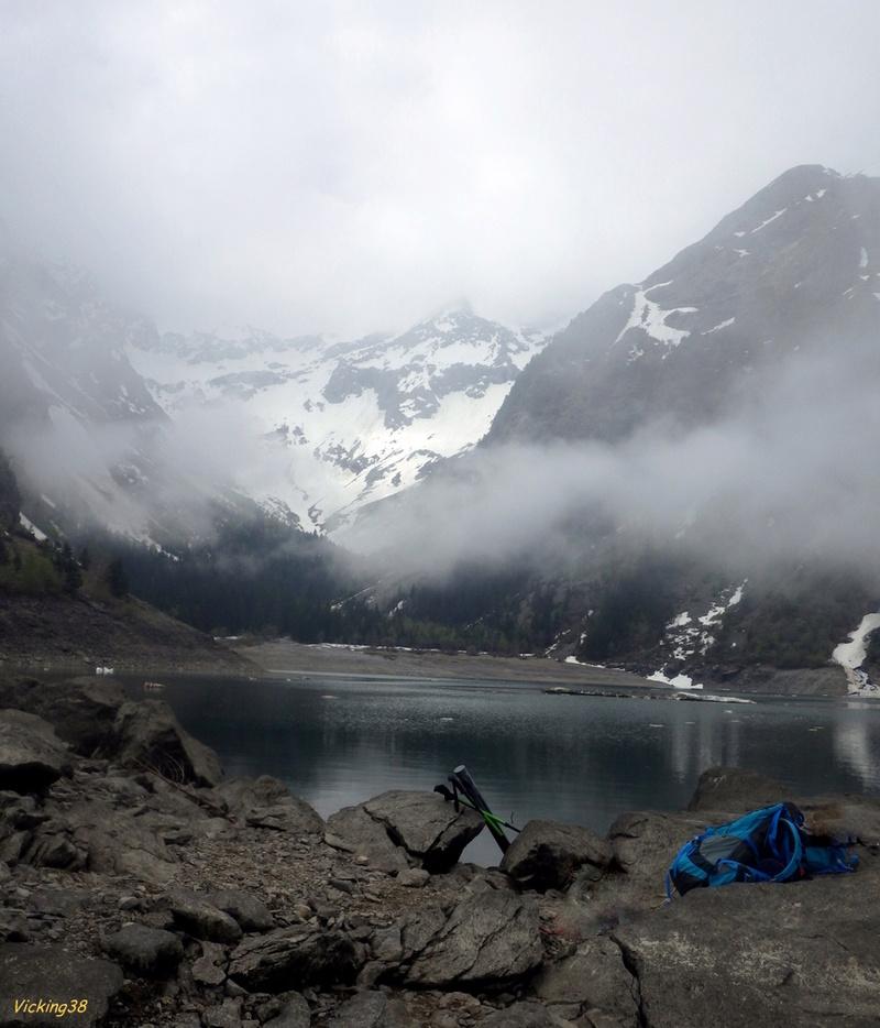 Le lac Lauvitel, lac de montagne version 2018 0220