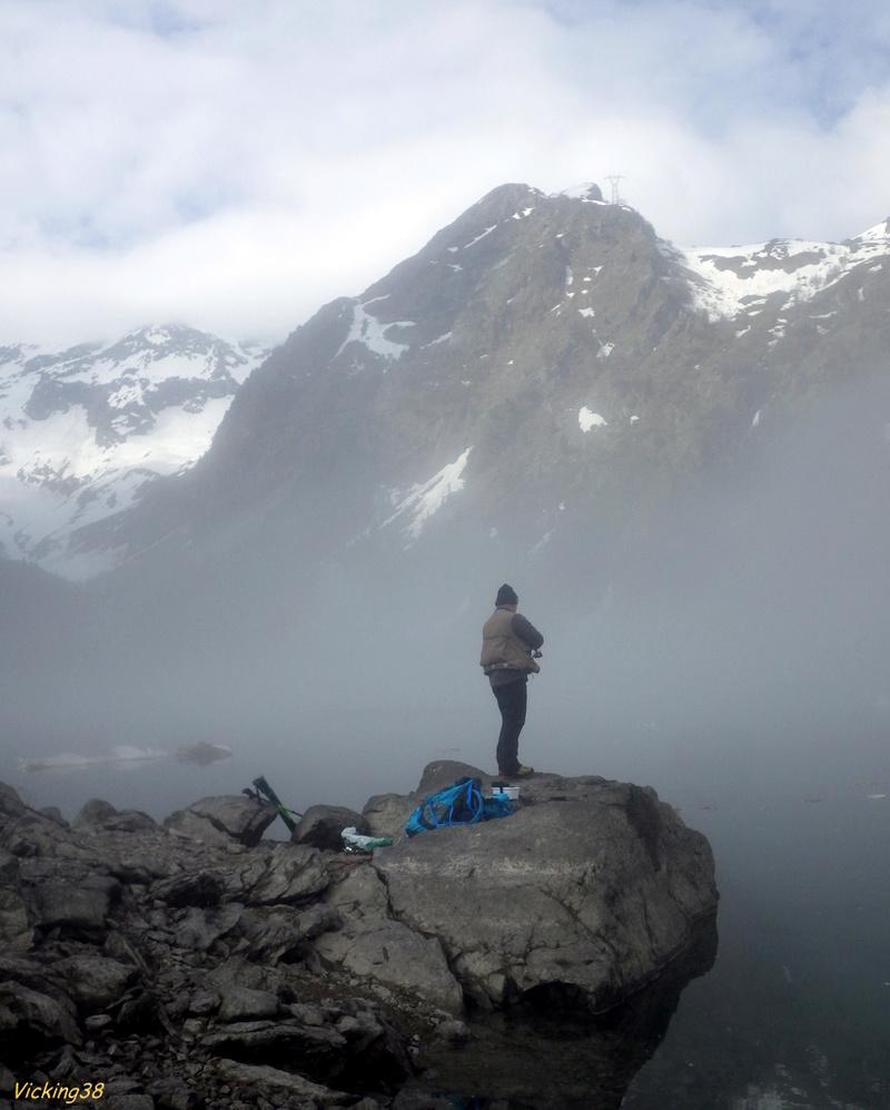 Le lac Lauvitel, lac de montagne version 2018 0318