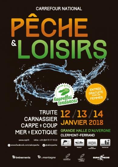 Salon de la pêche et loisirs de Clermont -Ferrand 2018 Cf_20110
