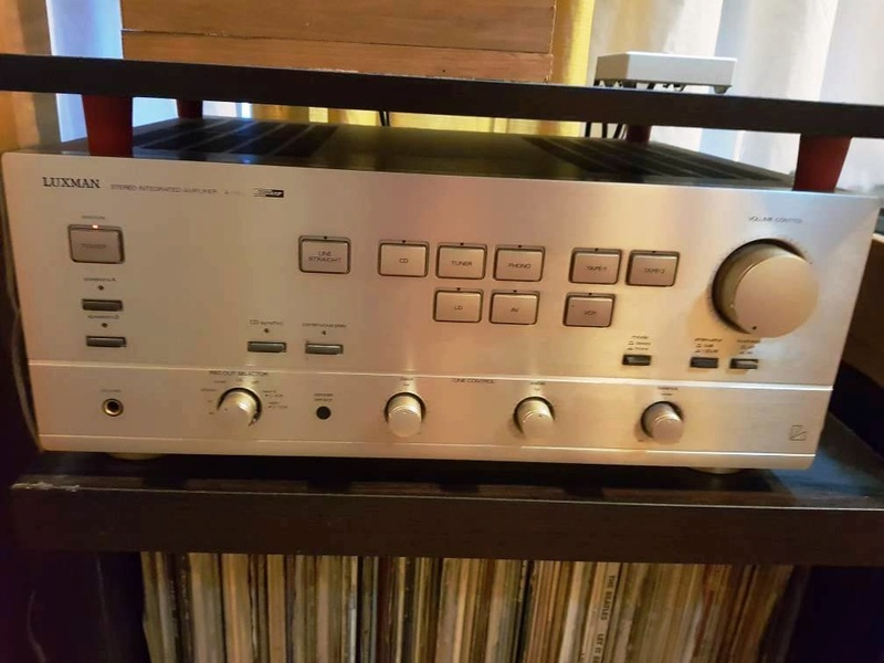 Luxman A383 Integrated Amplifier Luxman11