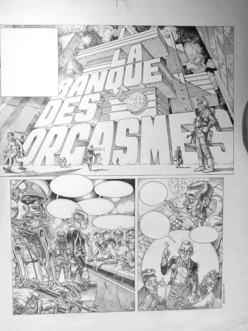 ILLUSTRATIONS DIVERSES. - Page 2 Banque10