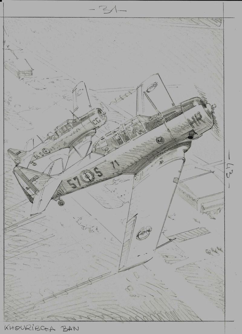 ILLUSTRATIONS ARDHAN ( AERONAVALE HISTORIQUE ) - Page 2 Croqui11