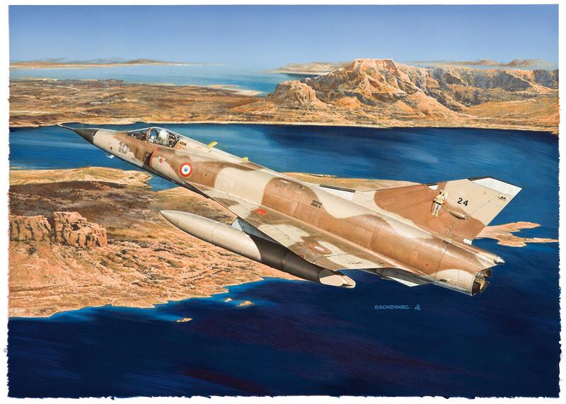SPECIAL ILLUSTRATIONS HELLER : AVIONS ARMEE DE L'AIR & MARINE Mirage10
