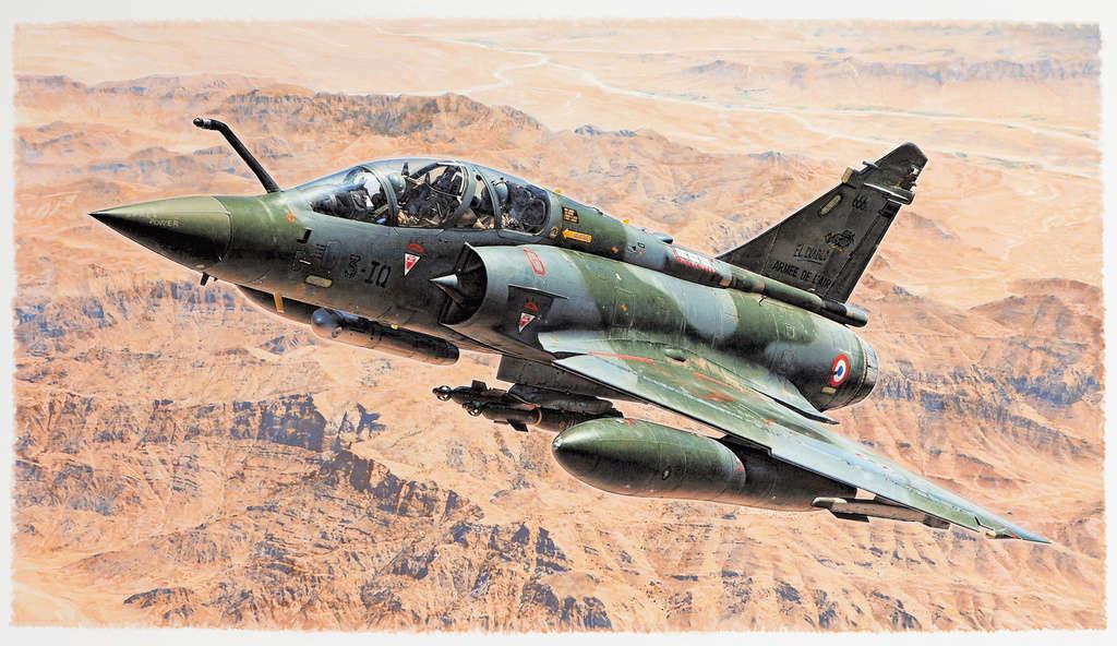 SPECIAL ILLUSTRATIONS HELLER : AVIONS ARMEE DE L'AIR & MARINE - Page 2 Mirage12