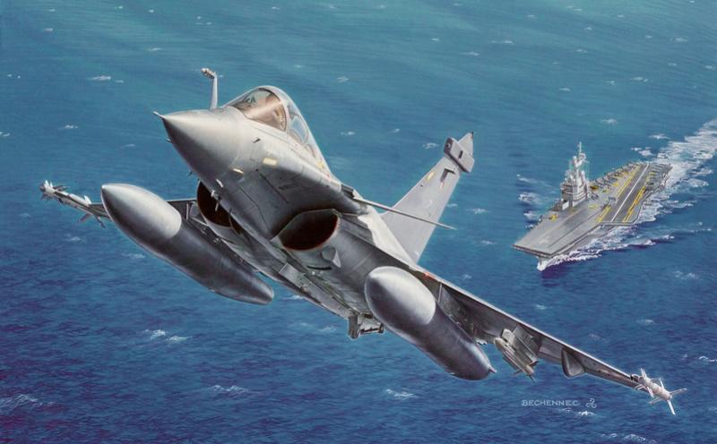 SPECIAL ILLUSTRATIONS HELLER : AVIONS ARMEE DE L'AIR & MARINE - Page 2 Rafale10