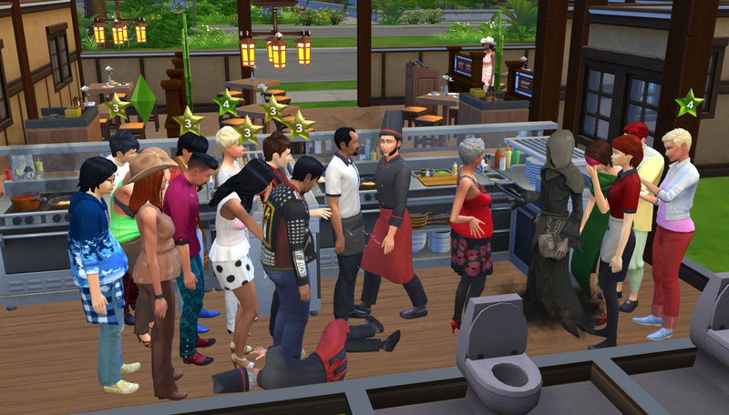 [Dine Out] Issues and Workarounds @Crinrict's Sims 4 Help Blog  10-13-10
