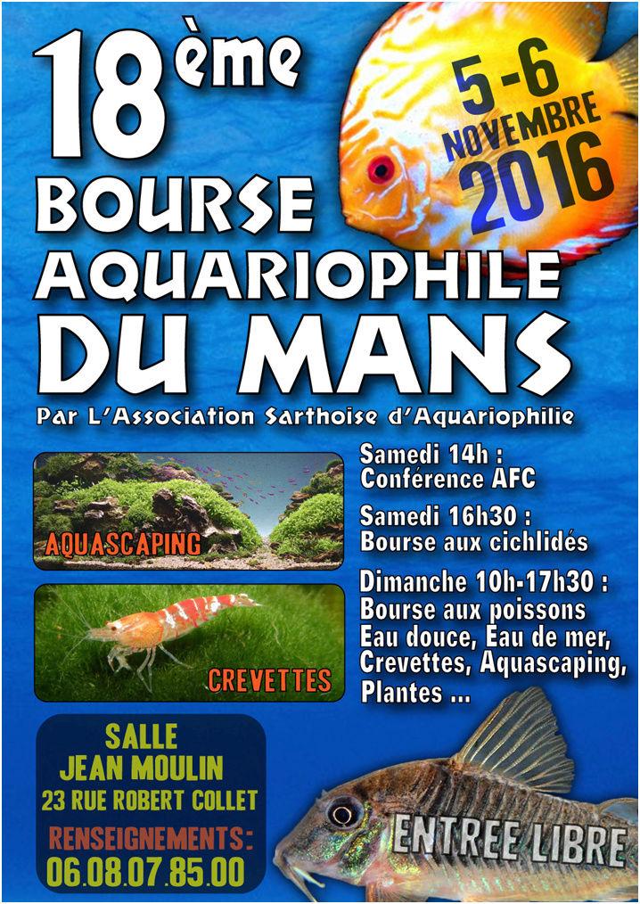 Bourse A S A LE MANS 4/5.NOVEMBRE 2017 Affich11
