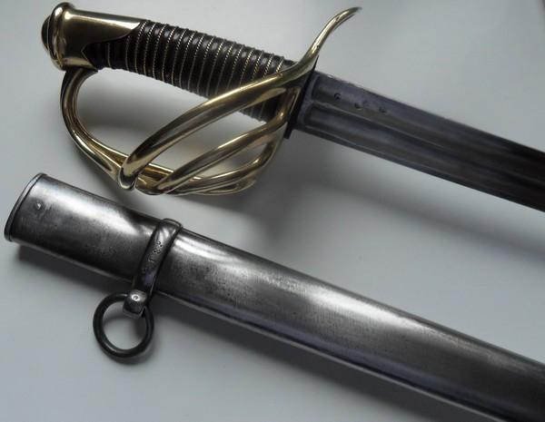 Sabre de cavalerie de réserve 1854 Sdc11223