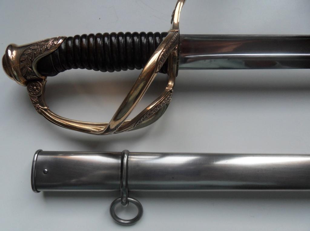 Un modèle injustement mésestimé : le sabre d'officier de cavalerie Mod 1882 Sdc11238