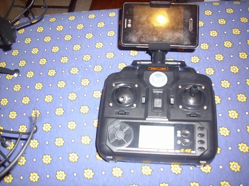 DRONE avec vidéo WIFI 3 caméras Dsci0111