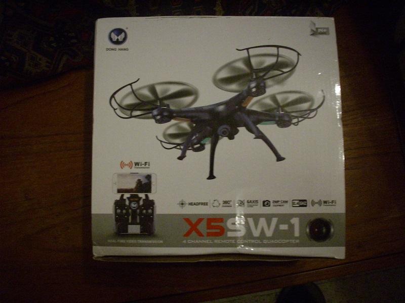 DRONE avec vidéo WIFI 3 caméras Dsci0114