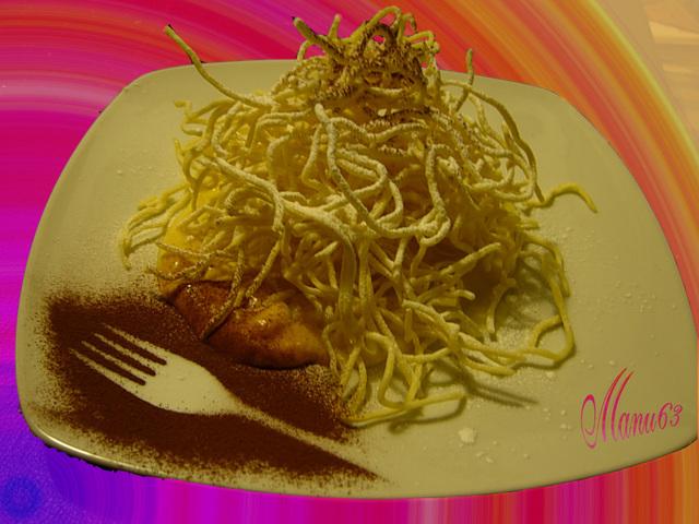 Tagliolini alla crema , ricetta fotografata su www.ricettegustose.it Taglio10