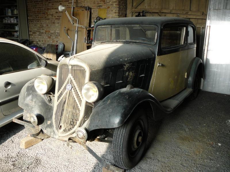 Cherche de l'aide pour Rosalie 10BL 1934: calandre, aile P1050111