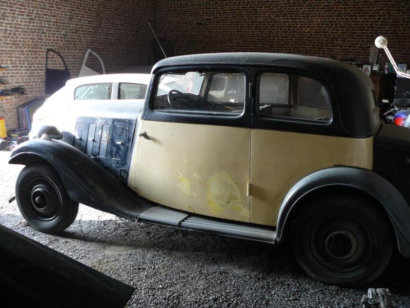 Cherche de l'aide pour Rosalie 10BL 1934: calandre, aile P1050112