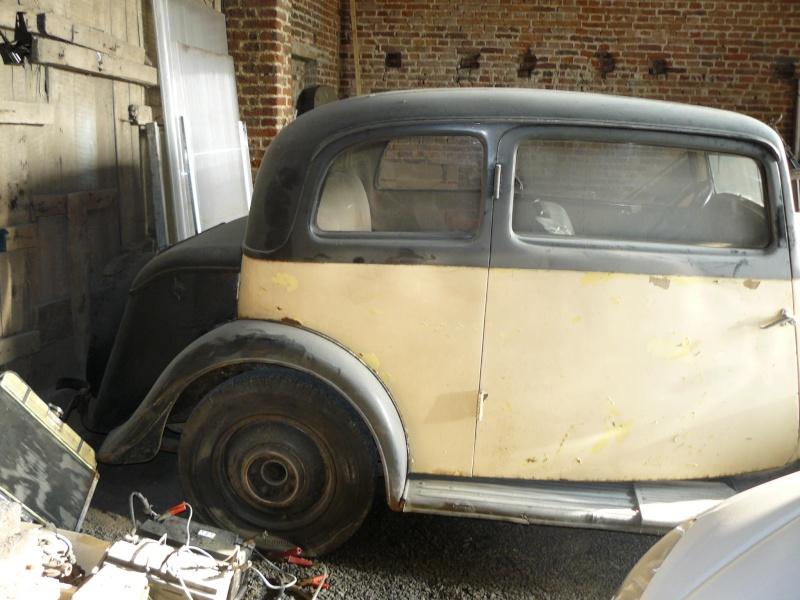 Cherche de l'aide pour Rosalie 10BL 1934: calandre, aile P1050113
