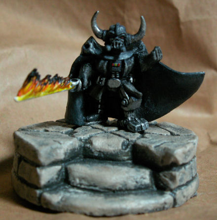 Dark Vador, Elfe, Gobelin en 25mm Darkva11