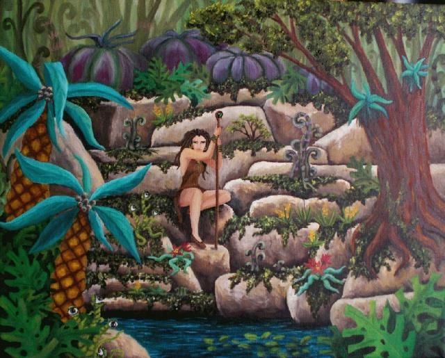 Les peintures de Yaddle Jungle10