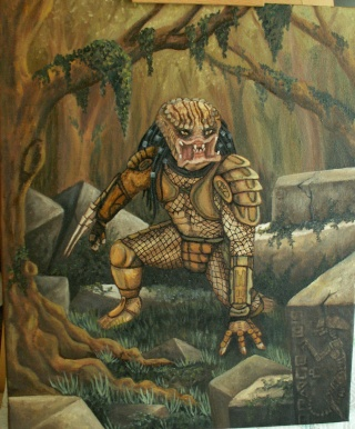 Les peintures de Yaddle Predat10