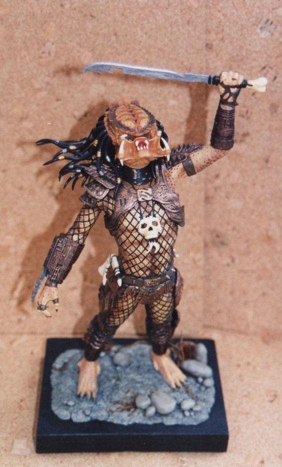 Maquette de Predator Predat14