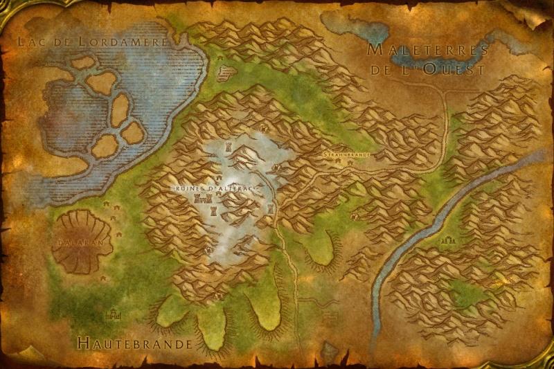 Carte des Royaumes de l'Est: Montagnes d'Alterac Altera11
