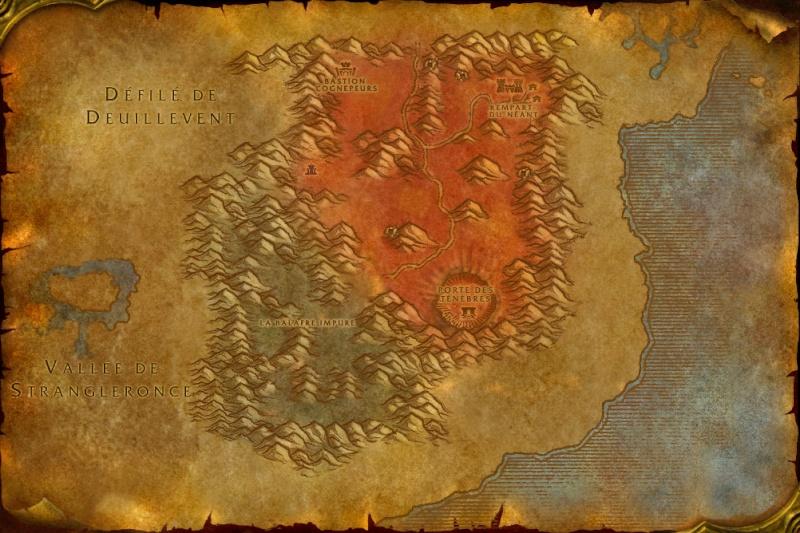 Carte des Royaumes de l'Est: Terres Foudroyées Blaste10