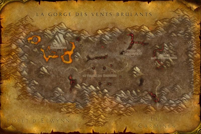 Carte des Royaumes de l'Est: Steppes Ardentes Burnin10