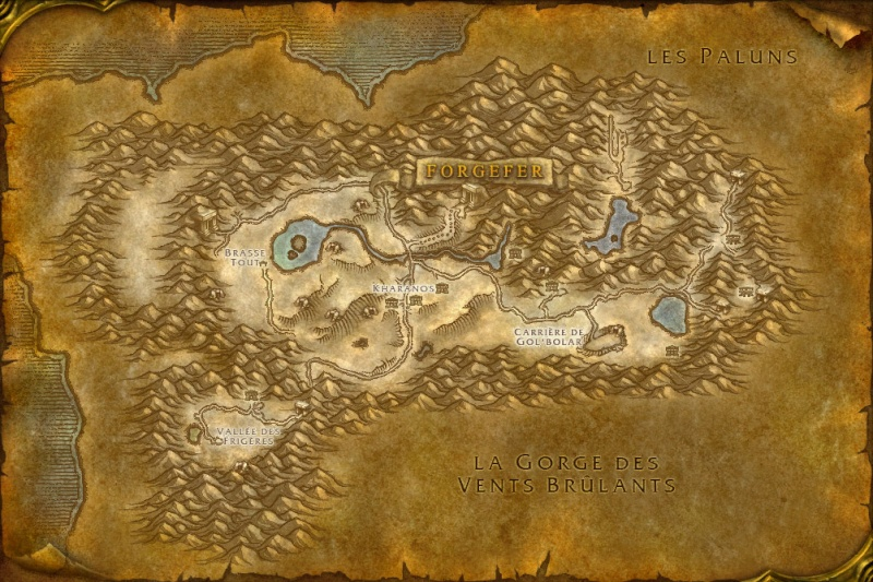 Carte des Royaumes de l'Est: Dun Morogh Dunmor10