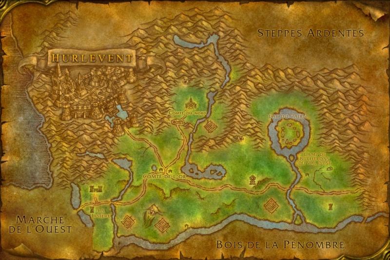 Carte des Royaumes de l'Est: Forêt d'Elwynn Elwynn10
