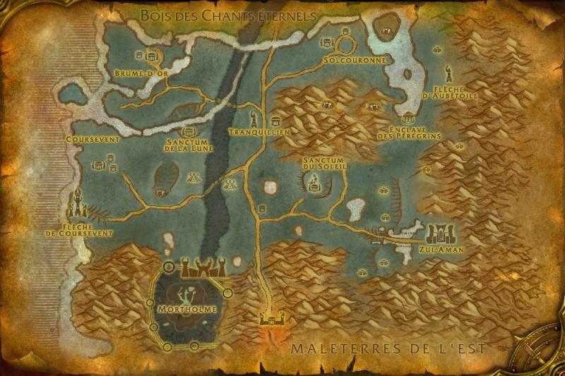 Carte des Royaumes de l'Est: Les Terres Fantômes Ghostl10