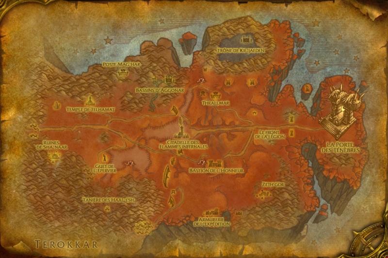 Cartes d'Outreterre: Péninsule des Flammes Infernales Hellfi10