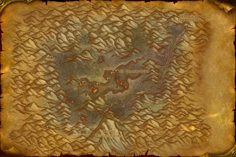 Carte des Royaumes de l'Est: Gorges des Vents brûlants Searin10