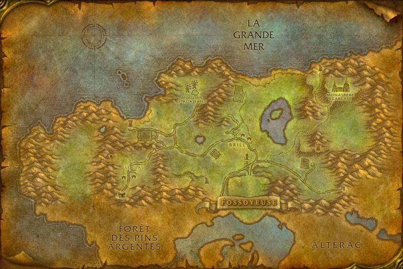 Carte des Royaumes de l'Est: Clairières de Tirisfal Tirisf10