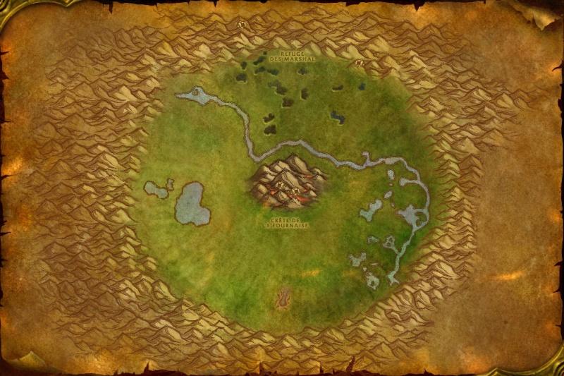 Cartes de Kalimdor: Cratère Un'Goro Ungoro10