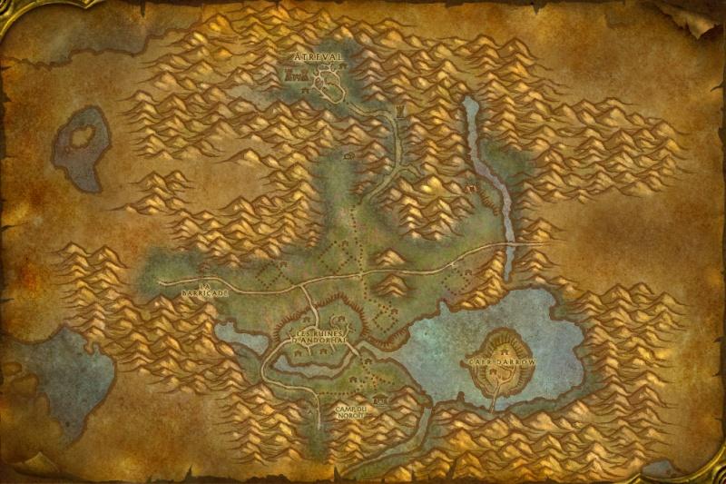 Carte des Royaumes de l'Est: Maleterres de l'Ouest Wester10