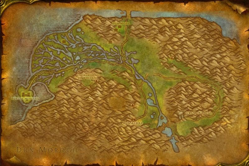 Carte des Royaumes de l'Est: Les Paluns Wetlan10