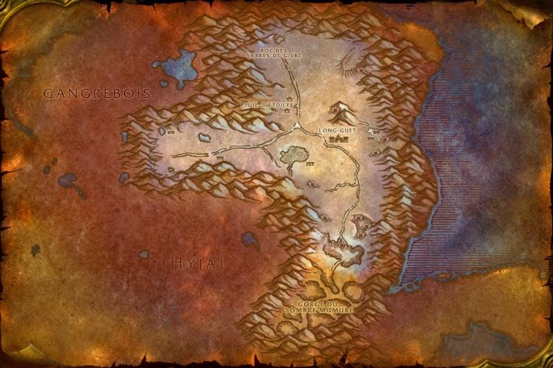 Cartes de Kalimdor: Berceau-de-l'Hiver Winter10
