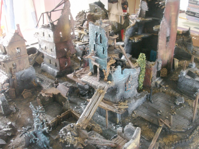 Spoooooky swamp terrain for empire in flames skirmish Ben_1512