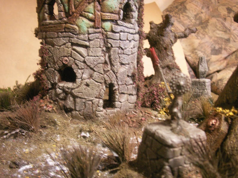 Spoooooky swamp terrain for empire in flames skirmish Pict0014