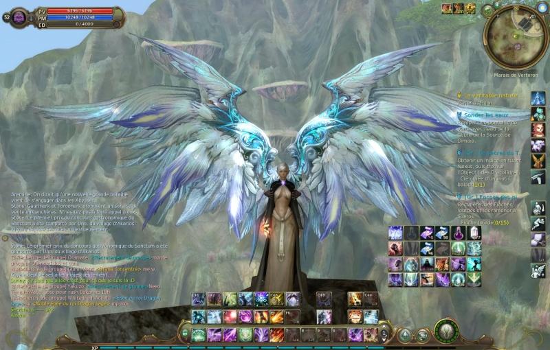 L'interface dans le jeu Aion. Aion0010
