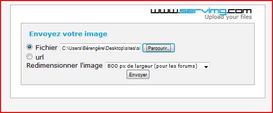 Tutoriel pour insérer une image ou créations dans une réponse ou nouveau message 310