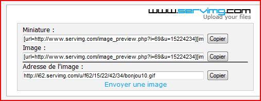 Tutoriel pour insérer une image ou créations dans une réponse ou nouveau message 410