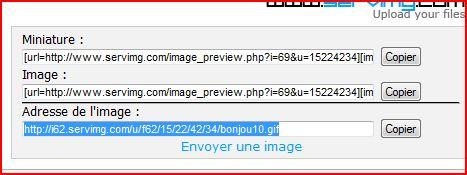 Tutoriel pour insérer une image ou créations dans une réponse ou nouveau message 510