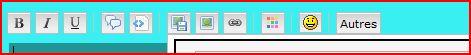 Tutoriel pour insérer une image ou créations dans une réponse ou nouveau message 610