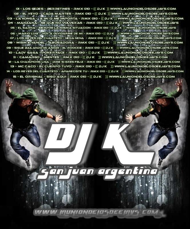 DJ K SANJUAN ARGENTINA - EN ACCION - 2010 - ADELANTO DEL DVD Cd_dj_10